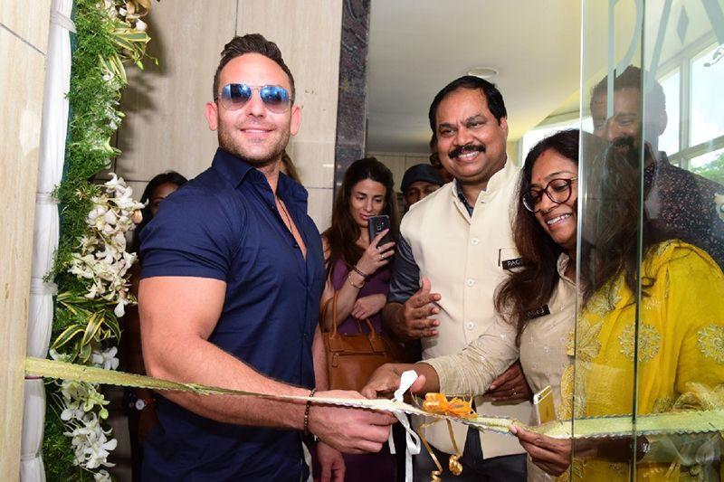 Hollywood Actor Adam Collins Inugurate Page3 Salon At Adyar