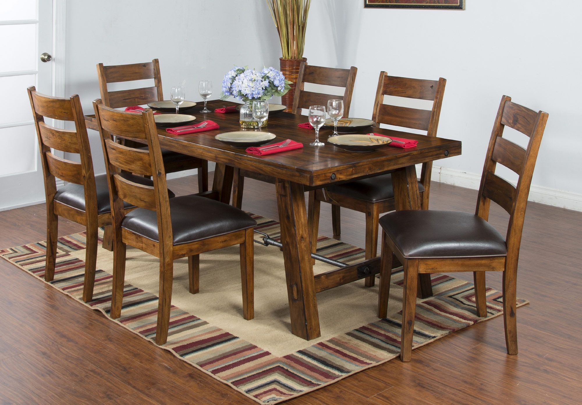 Tuscany Dining Table Set  Sunny Designs Furniture  Home Gallery Endearing Dining Room Table Chairs Design Inspiration