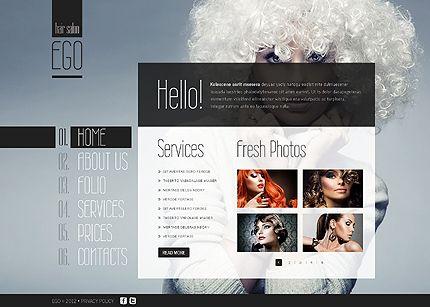 Hair Salon Template. hair salon template vector free download. ego ...