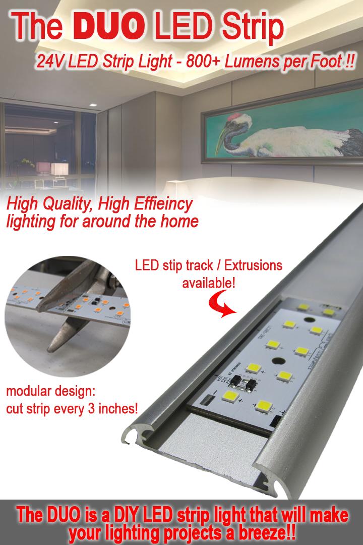 24 Volt Led Strip Light Engine Duo Led Strip Lighting Led Strips Diy Led Strip