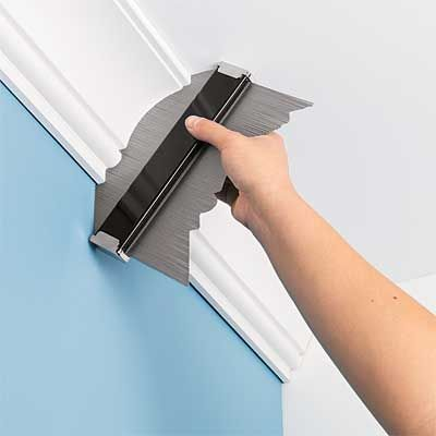 Toh S Tom Silva Uses A Profile Gauge To Trace And Create New Molding That Matches Existing