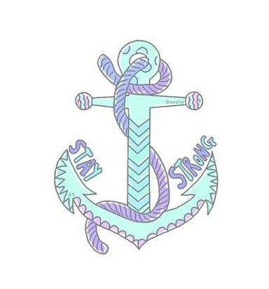 Imagen De Anchor Blue And Overlay