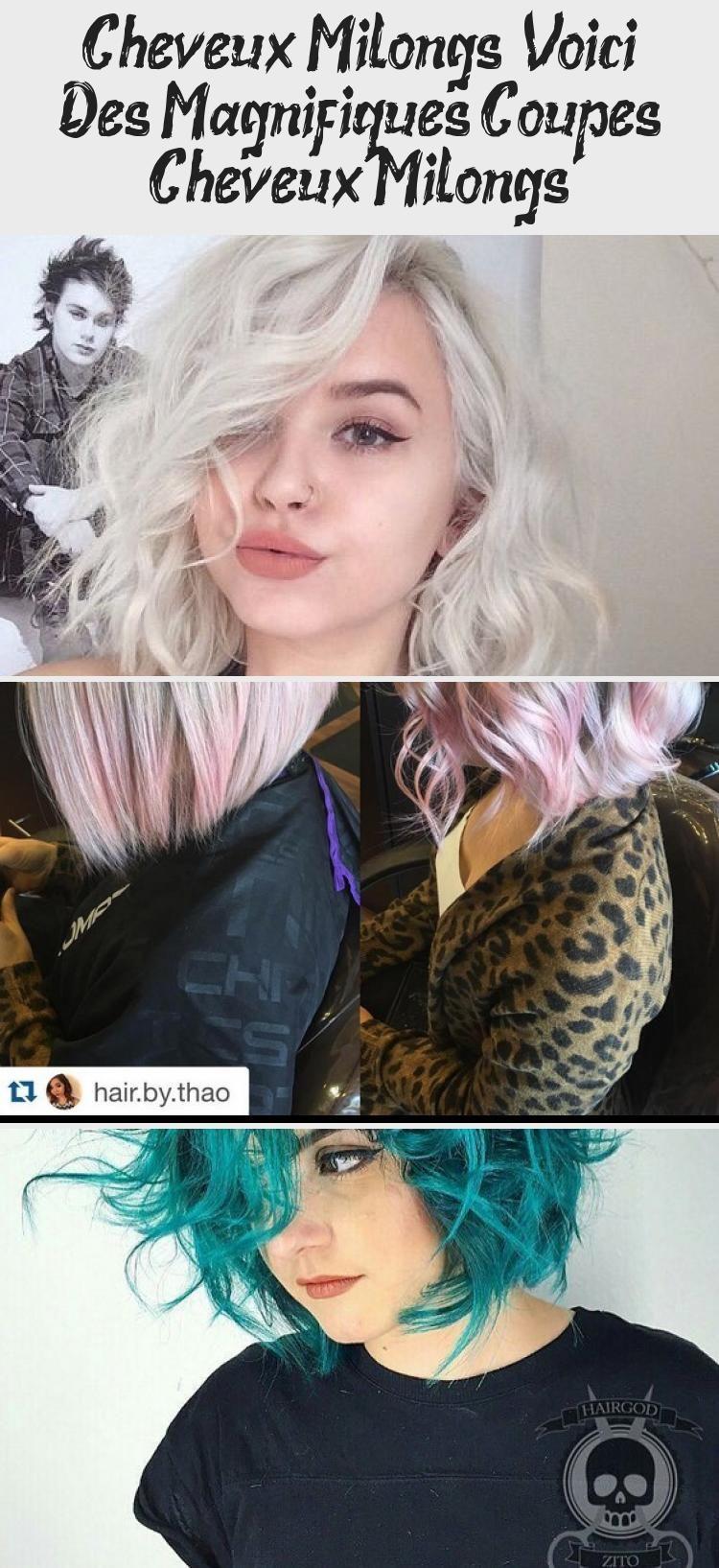 Cheveux Mi-longs : Voici Des Magnifiques Coupes Cheveux Mi-longs
