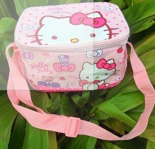 Retail Hello Kitty Thermal Printing Lunch Box Bag Insulated Cooler Bag  Picnic Dining Travel Tote Bag 73e61f2f74575