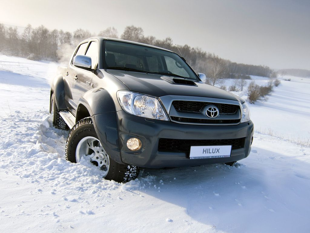Arctic trucks at35 modified toyota hilux