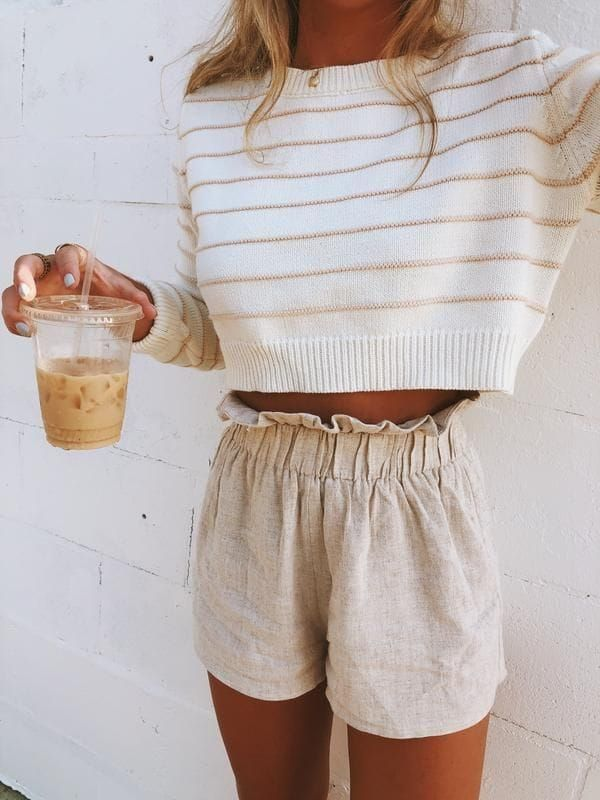 25+ Fashionable Summer Outfit Ideas You Should Try #summerfashion