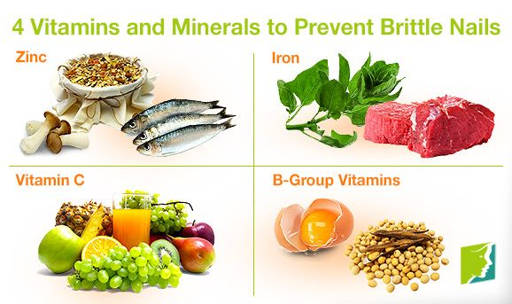 4 Vitamins and Minerals to Prevent Brittle Nails | Home Remedies for ...