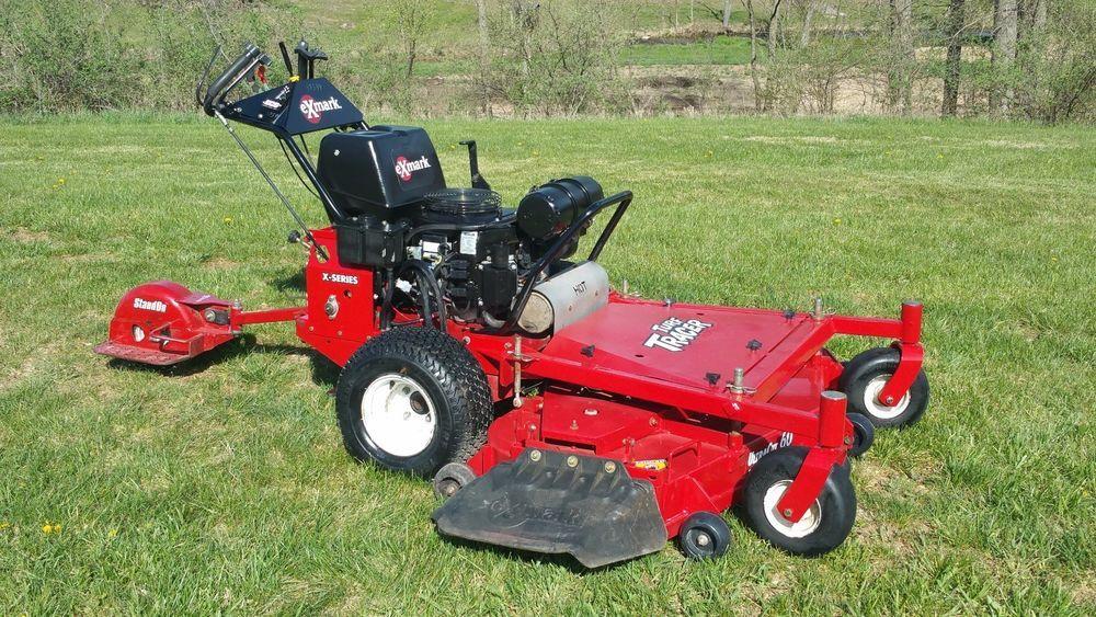 "2014 Exmark 60"" Turf Tracer Walk Behind Lawn Mower"
