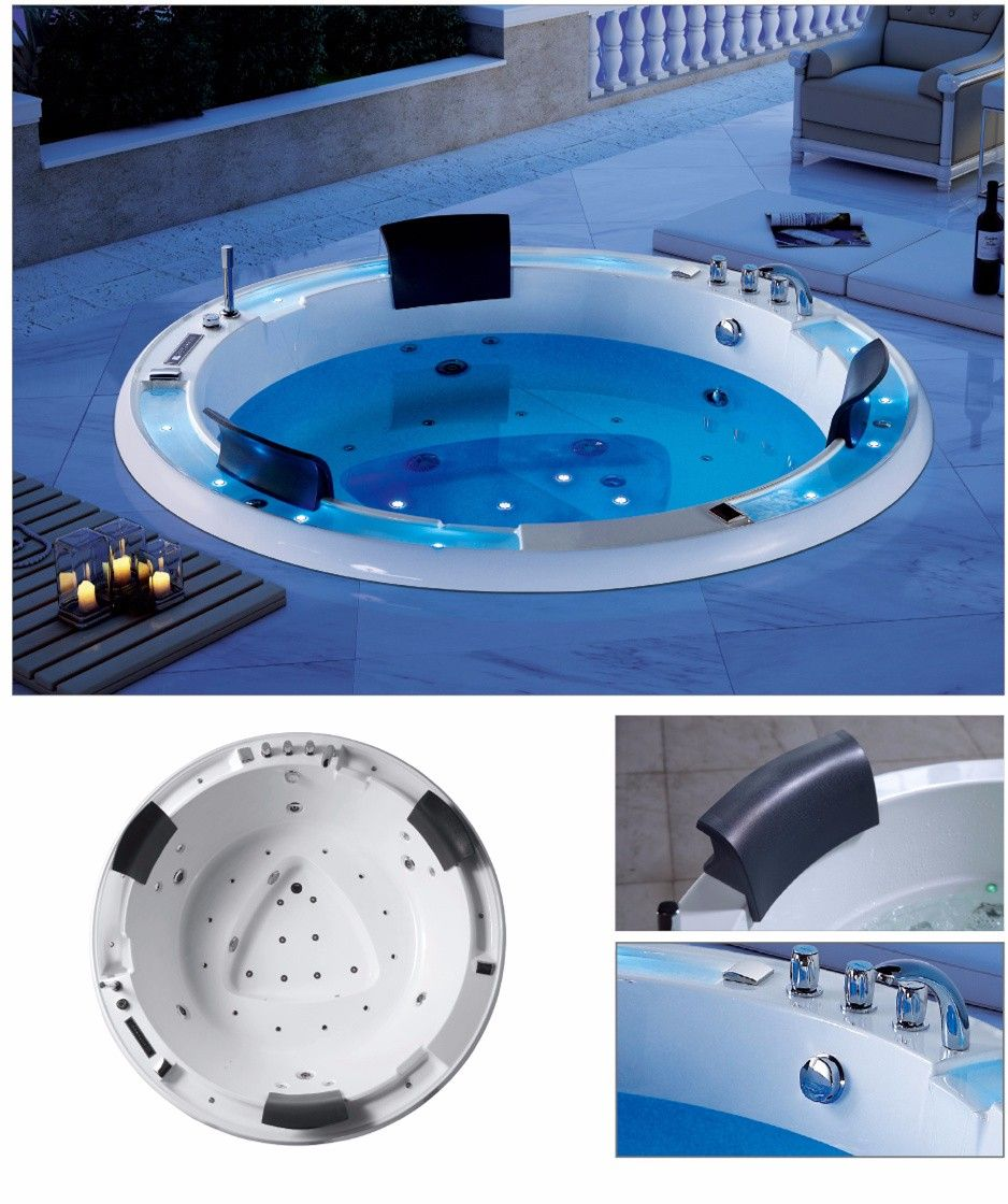 Outdoor Chinese Mini Balboa Hot Tub Tube/spa Products Perfect Lazy ...