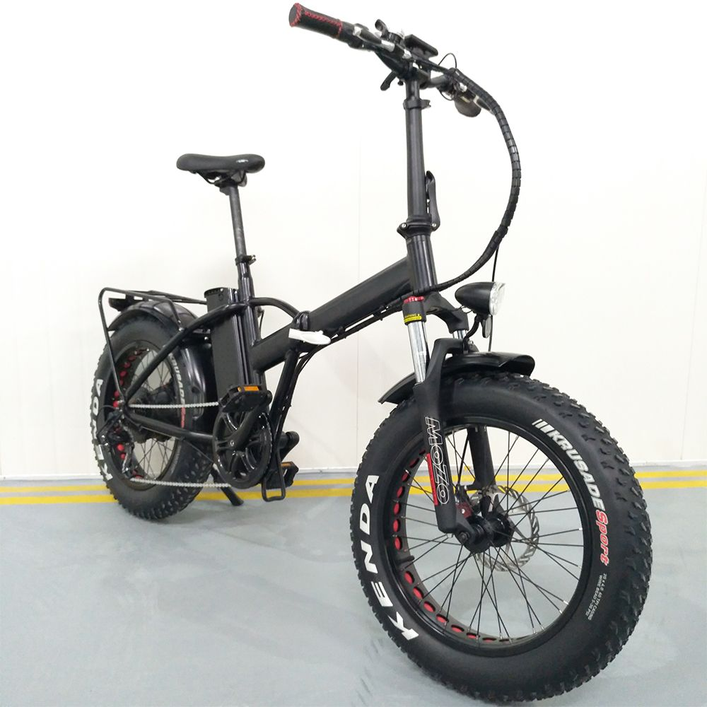 Electric Folding Bike Fat Tyres