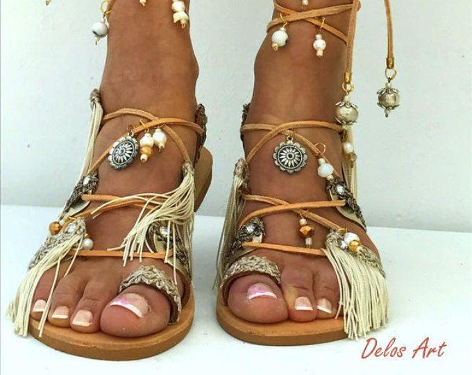 2c93b034c89d Delos Art Leather Sandals. by DelosArt