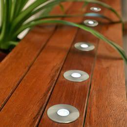 Low Voltage Deck Lights 4 Pack, Outdoor Ambient Lighting, Easy DIY