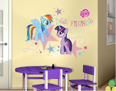 My Little Pony Best Friends Wall Decal Decoracion Hogar