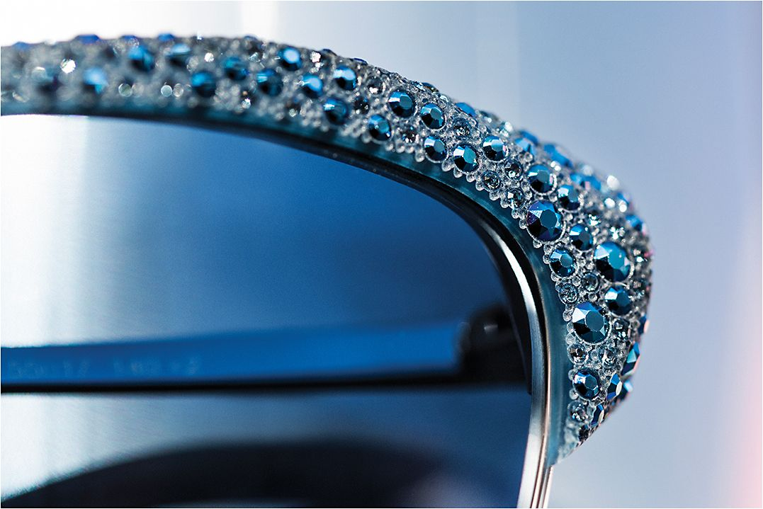 7ba7eecf99d5c Atelier Swarovski enters the luxury eyewear market with an exquisite debut  collection from Marcolin.