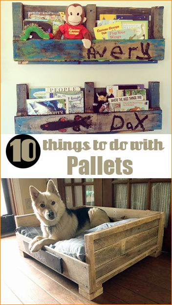 Do It Yourself Home Design: 10 Things To Do With Pallets