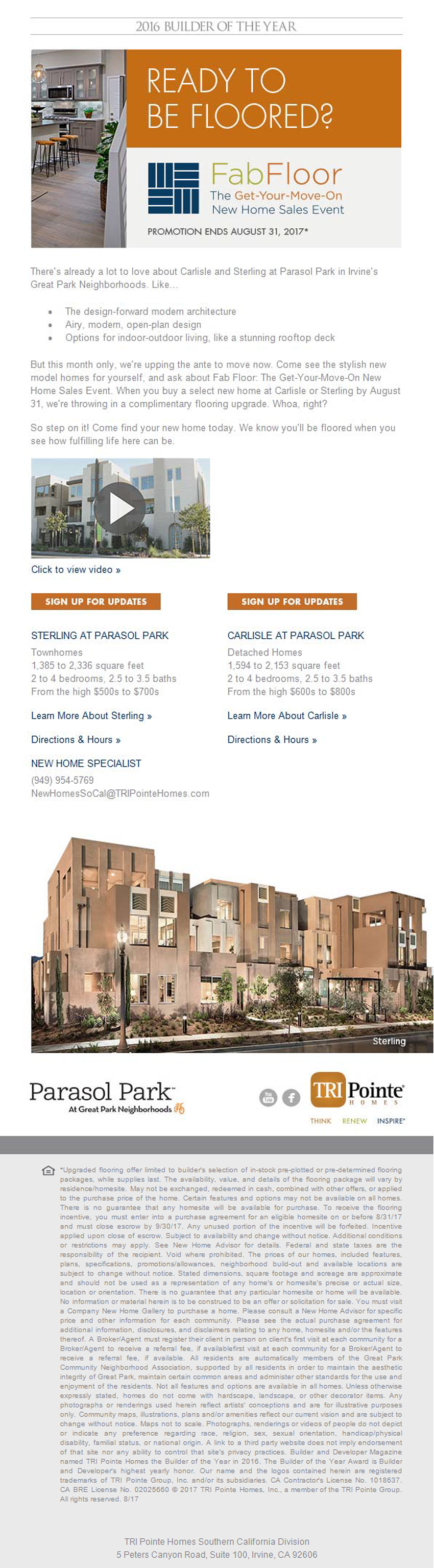 New Homes For Sale In Irvine California Fab Floor Sales Event Free Flooring Your Home Upgrade Promotion Ends 8 31