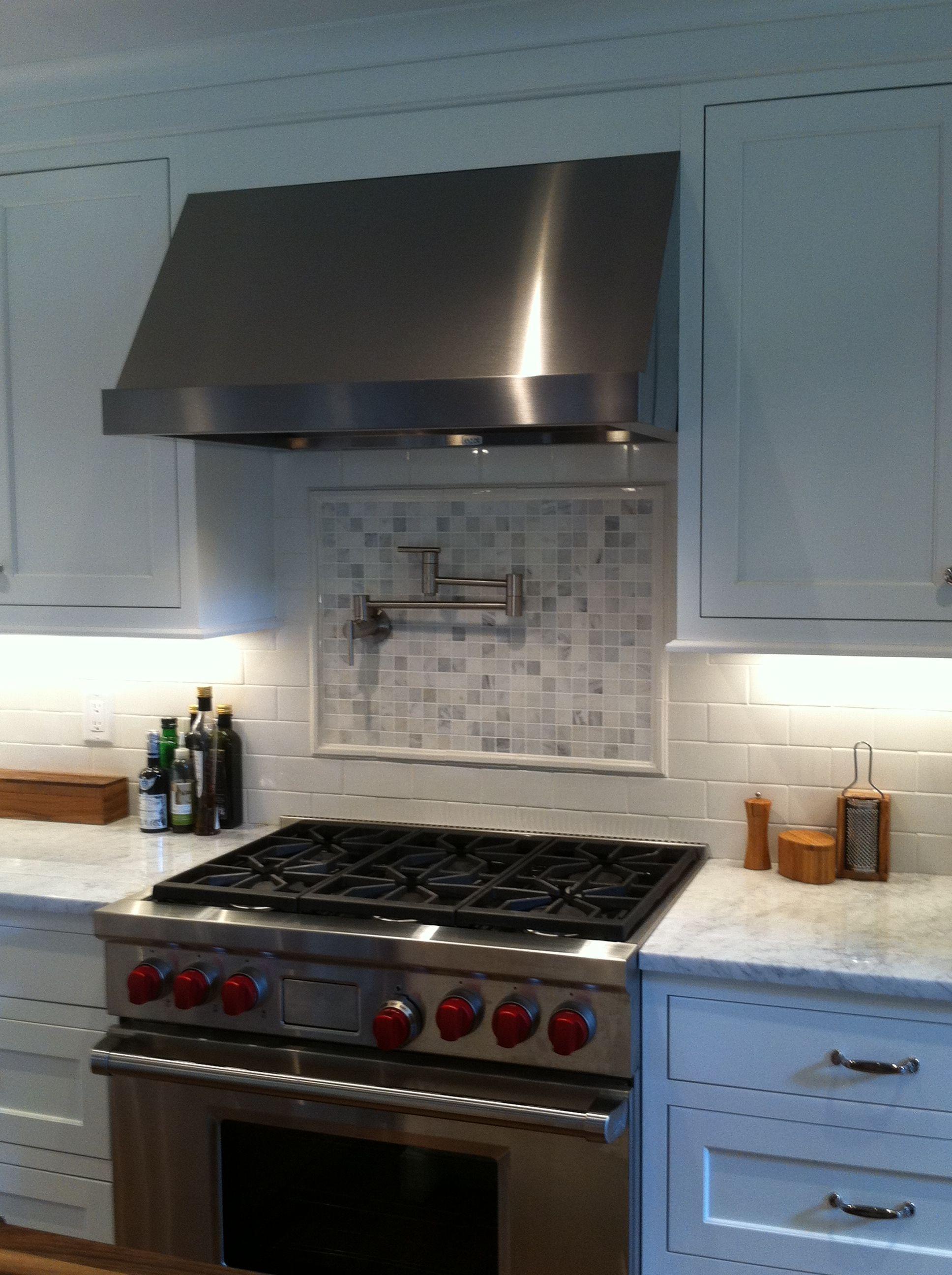 Image result for kitchen inspiration backsplash behind stove with ...