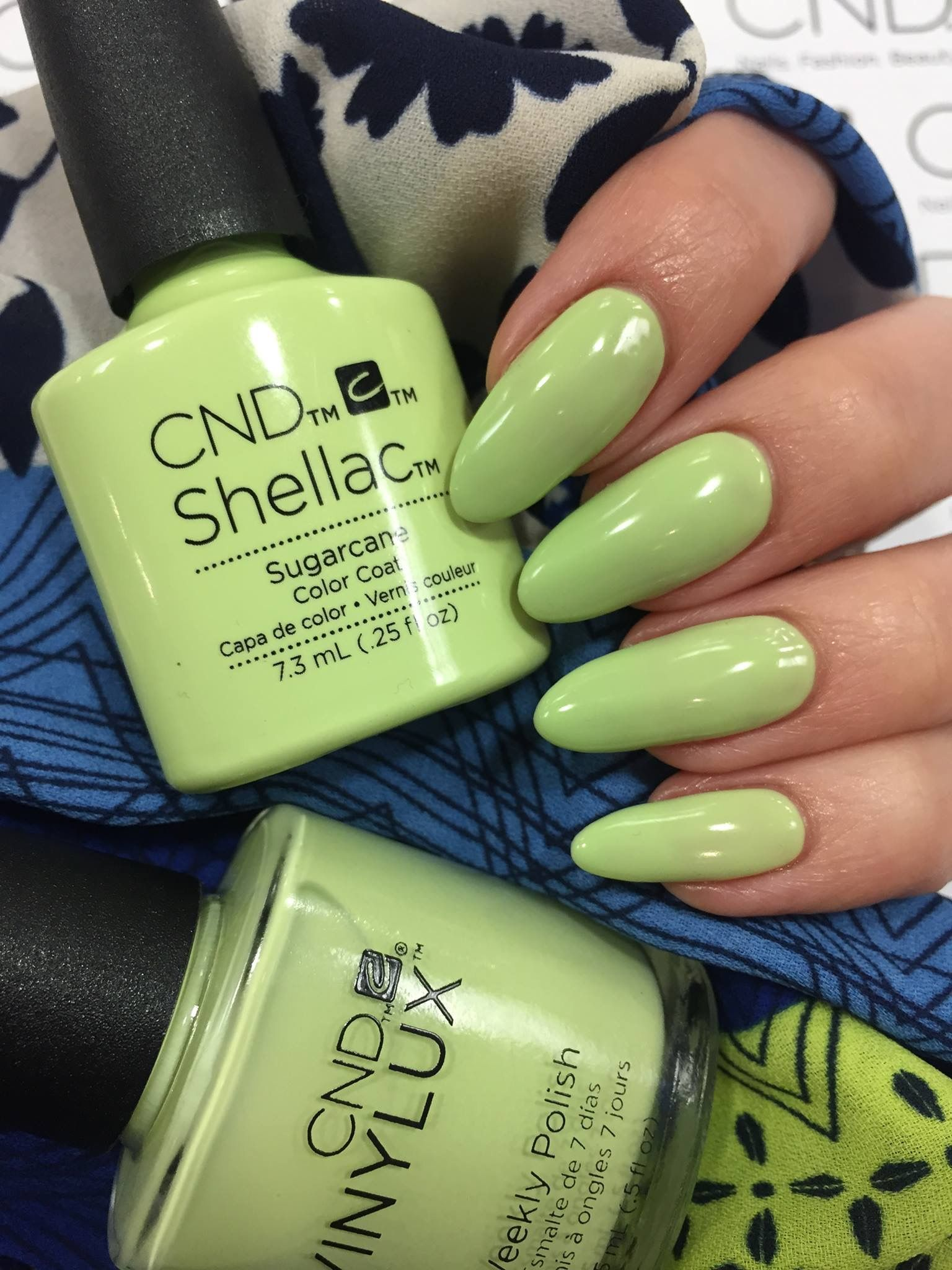 Shellac sugarcane | Nail Art and more nail art | Pinterest