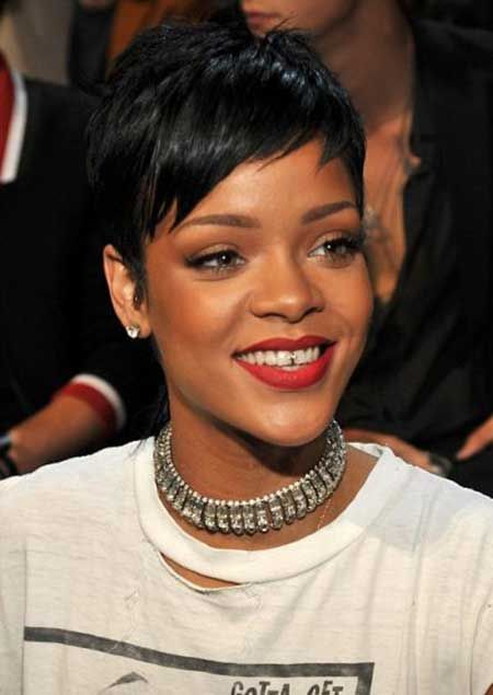 25 Nice Short Hairstyles for Black Women | Short hairstyle, Black ...