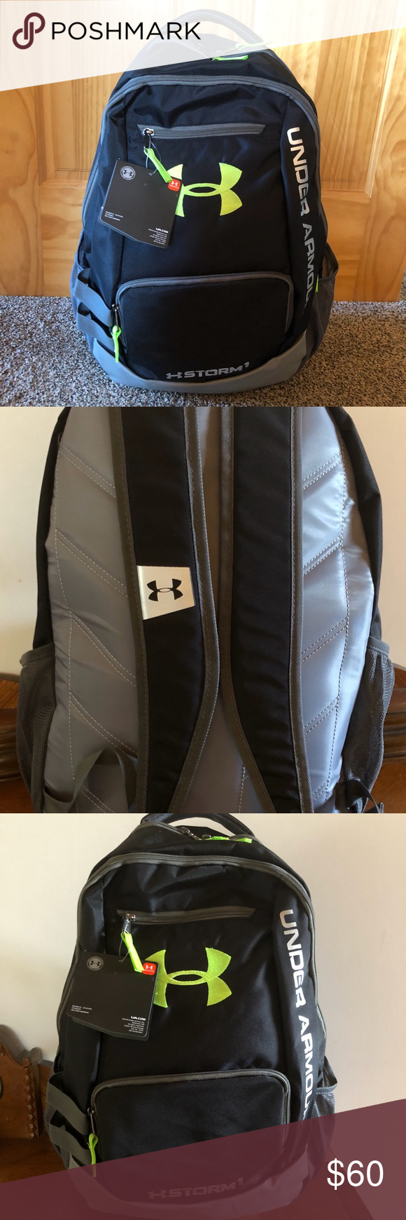 49a6f2f84210   FIRM   Under Armor Storm 1 Unisex Backpack NWT UA Storm technology  delivers