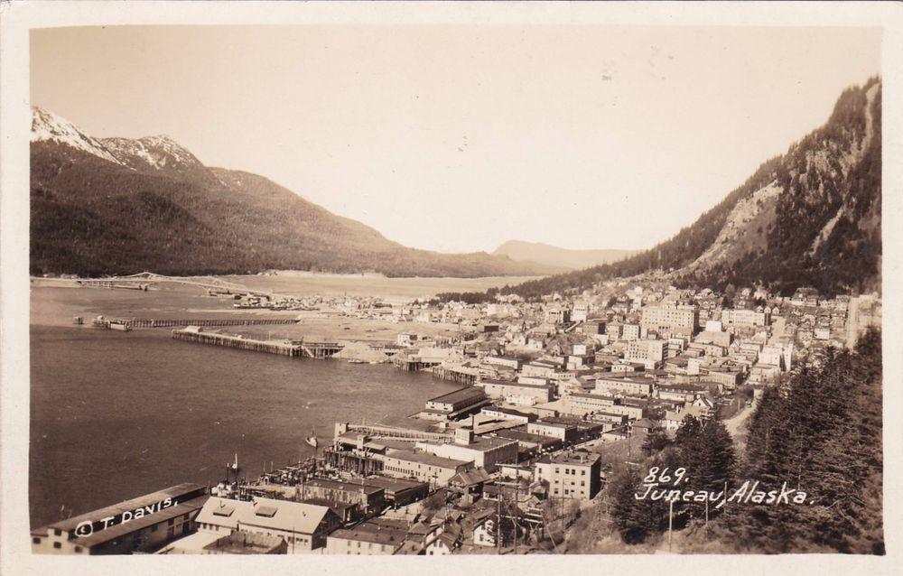 RP, Panorama Of Juneau, Alaska, 19301950s Juneau, Alaska