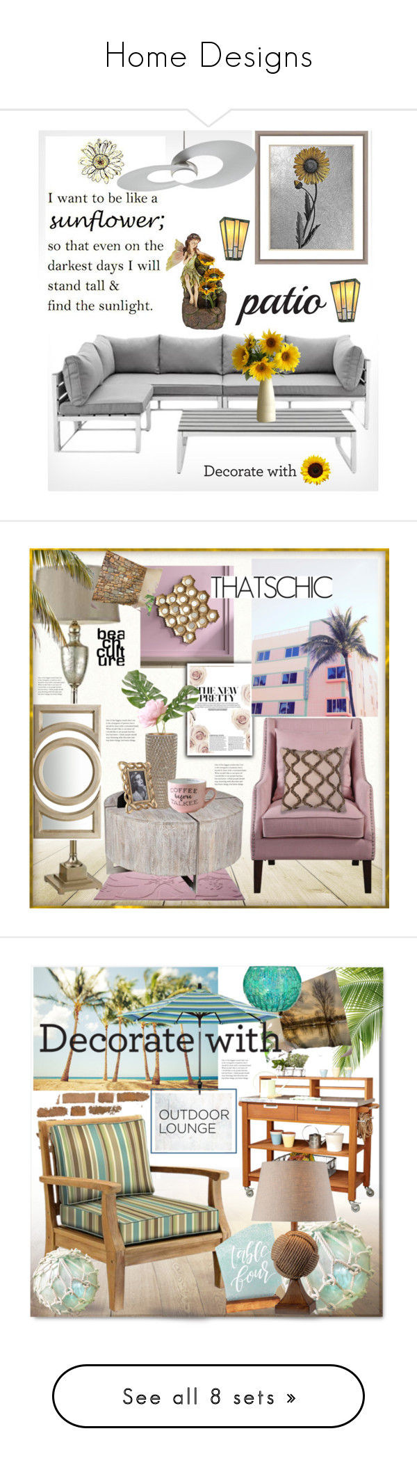 Home Designs By Coastaldesigns Liked On Polyvore Featuring
