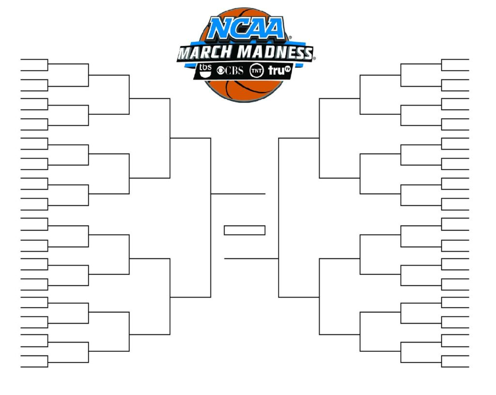Ncaa Tournament Bracket In Pdf Printable Blank And Fillable With Regard To Blank March Madness Br In 2020 March Madness Bracket Ncaa Tournament Bracket Ncaa Bracket