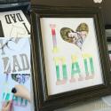 Father's Day Printable Photo mat at U-createcrafts.com