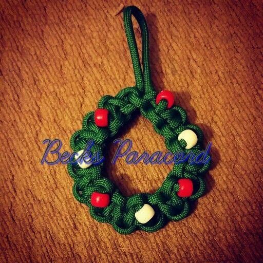 Paracord Christmas Wreath