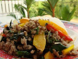 Thai food recipe gaprao neu uh stir fried beef with basil joys thai food recipe gaprao neu uh stir fried beef with basil forumfinder Image collections