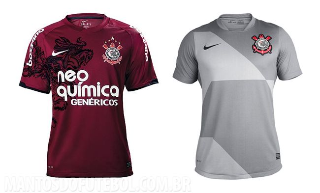 518f99fb75 Camisa vinho e camisa cinza do Corinthians