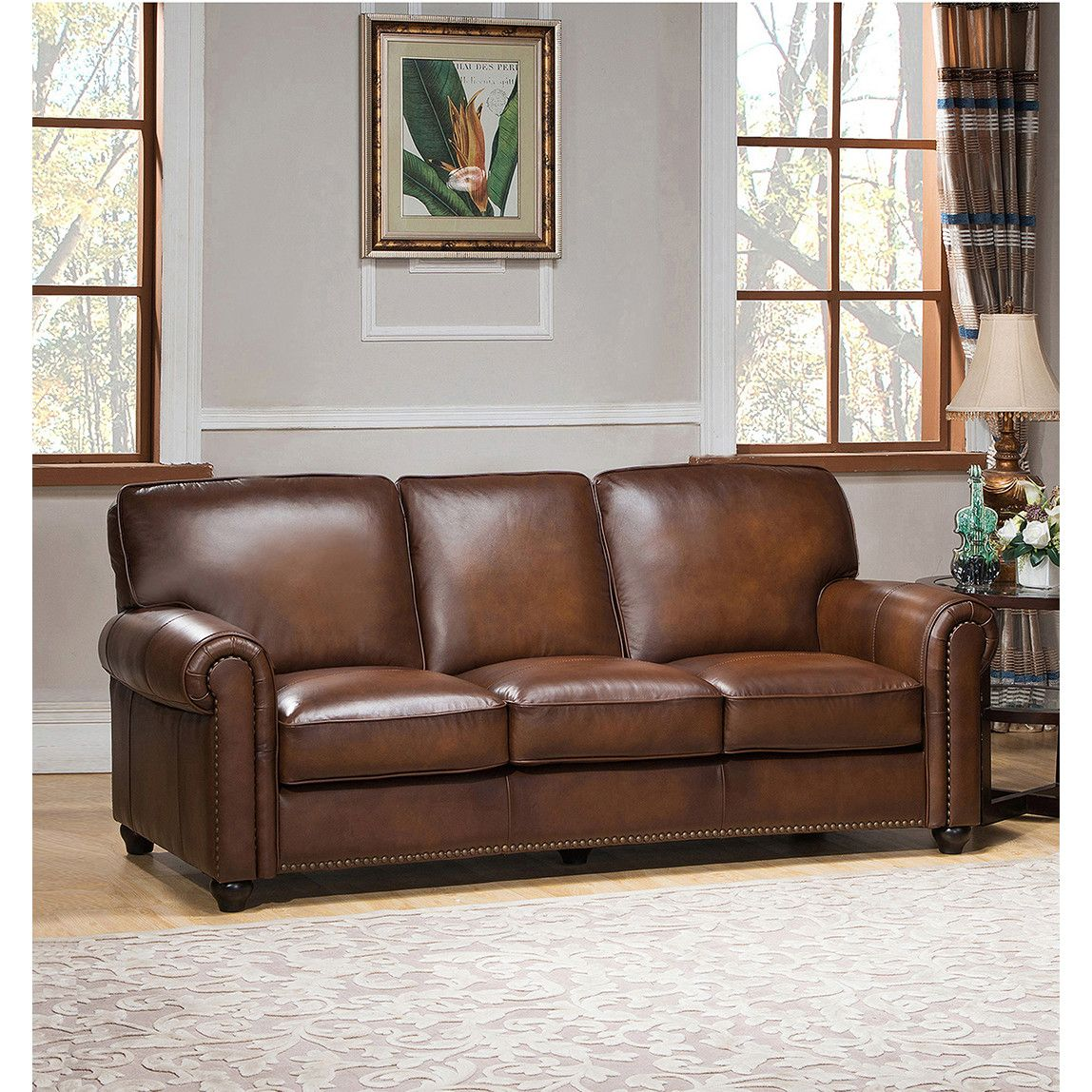 Amax Aspen Leather Sofa 2250