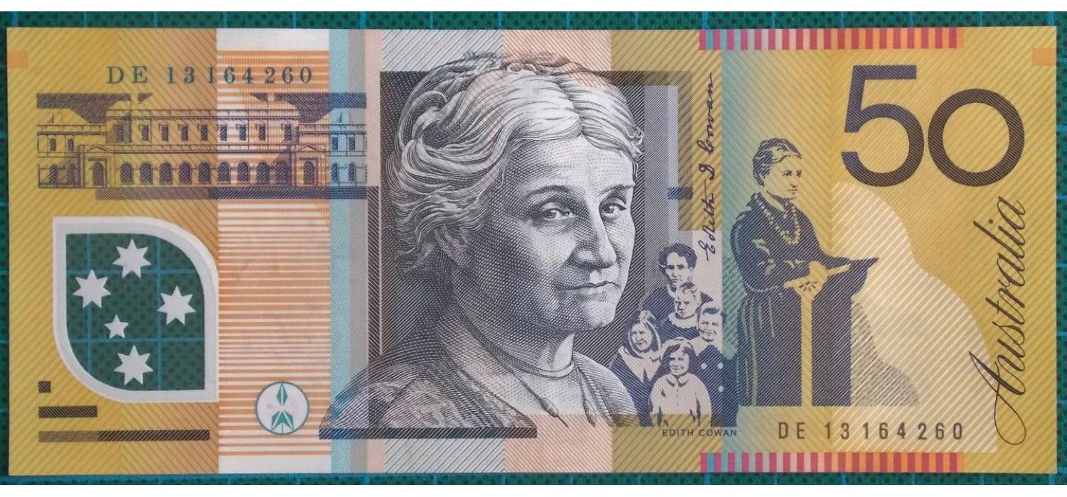 2013 Australia Fifty Dollars DE13164260 (With images