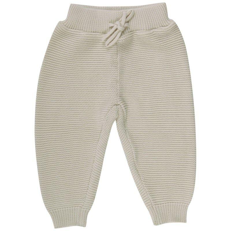 Müsli strikkede bukser