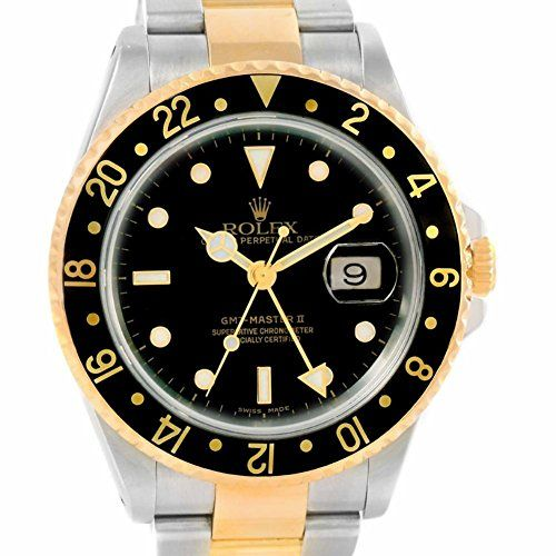 Rolex GMT Master automaticselfwind mens Watch 16713 Certified Preowned >>> Want additional info? Click on the image. (This is an Amazon affiliate link)