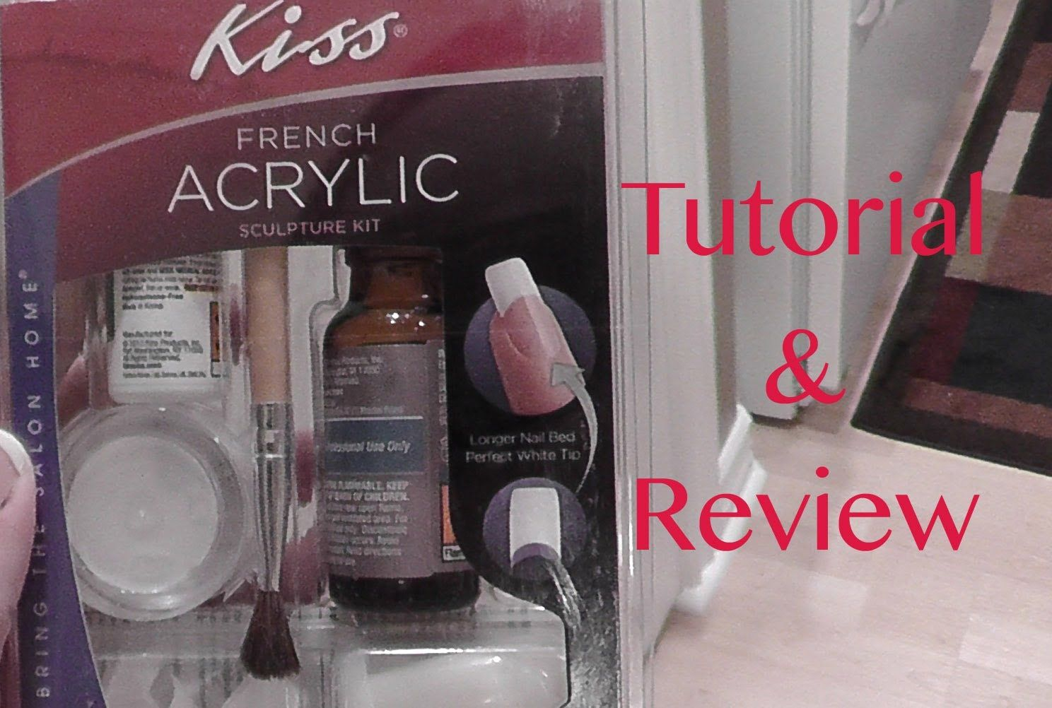 Kiss French Acrylic Sculpture Kit Review Tutorial French Acrylics Acrylic Sculpture Acrylic Nail Kit