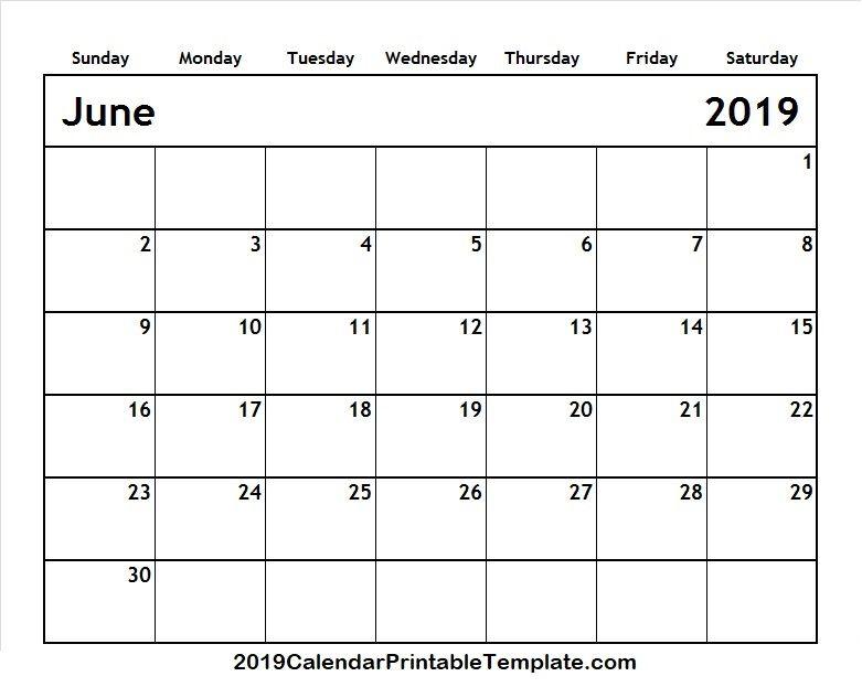 Pin by 2019Calendarprintabletemplate on June 2019 Calendar