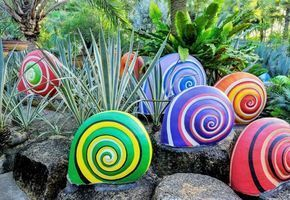 50 ideas for DIY garden decoration and creative gardening #gartengestaltungideen