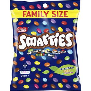 Nestle Smarties Chocolate Bag Family Size Coles Online Smarties Chocolate Fresh Groceries Smarties