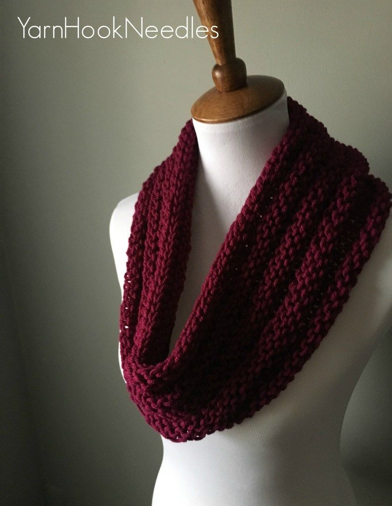 The Ridgeline Knit Cowl with FREE Pattern! – Yarn|Hook|Needles ...