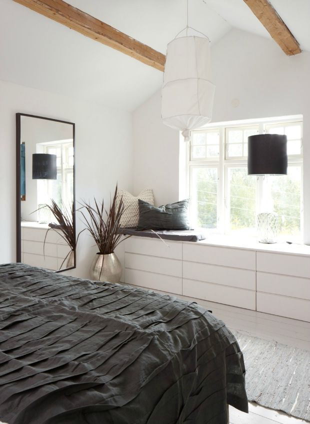 Dressoir in de slaapkamer (Eenig Wonen) | Interiors | Pinterest ...