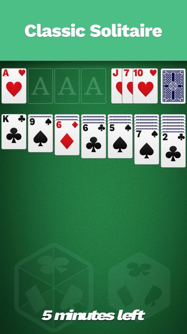 ‎Solitaire Cube, Classic Cards on the App Store Classic