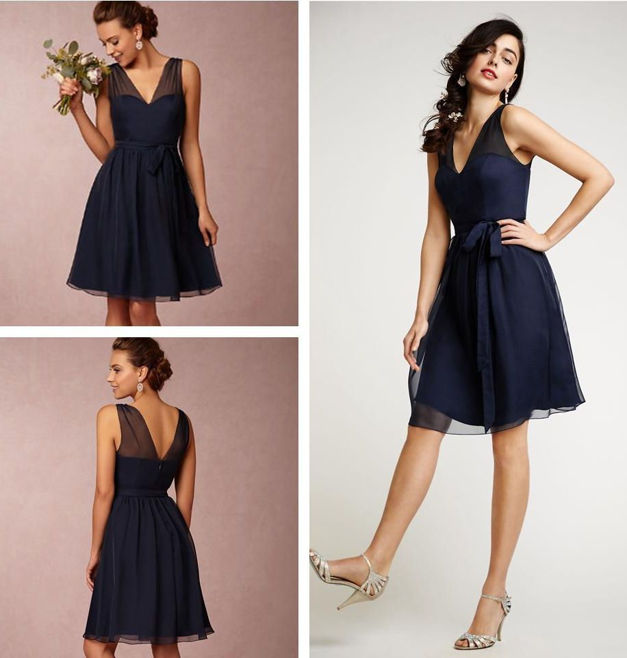 Navy bridesmaid dresses off shoulder bridesmaid dresses short explore short sexy dresses blue chiffon dresses and more ombrellifo Gallery
