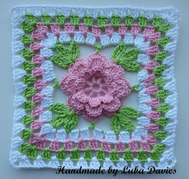 granny square mormorsrutor | Inspiration | Pinterest