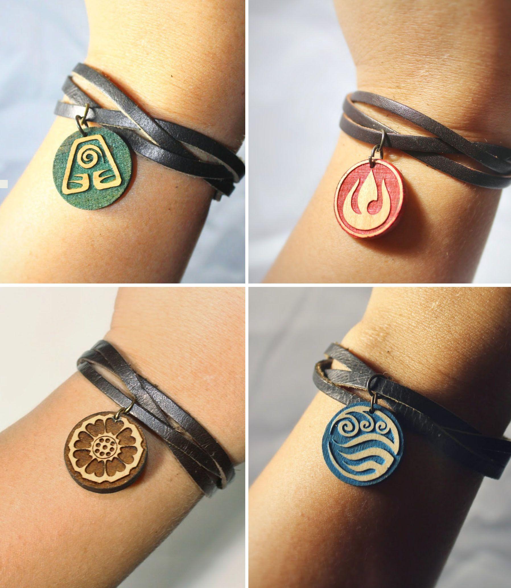 Avatar Bracelets & Pins in 2020 Avatar airbender, Avatar