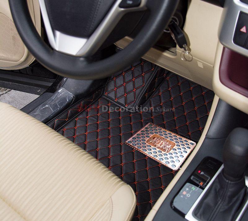For Toyota Land Cruiser J200 7 Seats 2012 2016 Interior Floor Mats Foot Pad Car