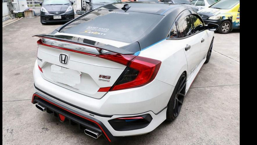 Civic rs turbo sedan Honda, Honda civic 2016