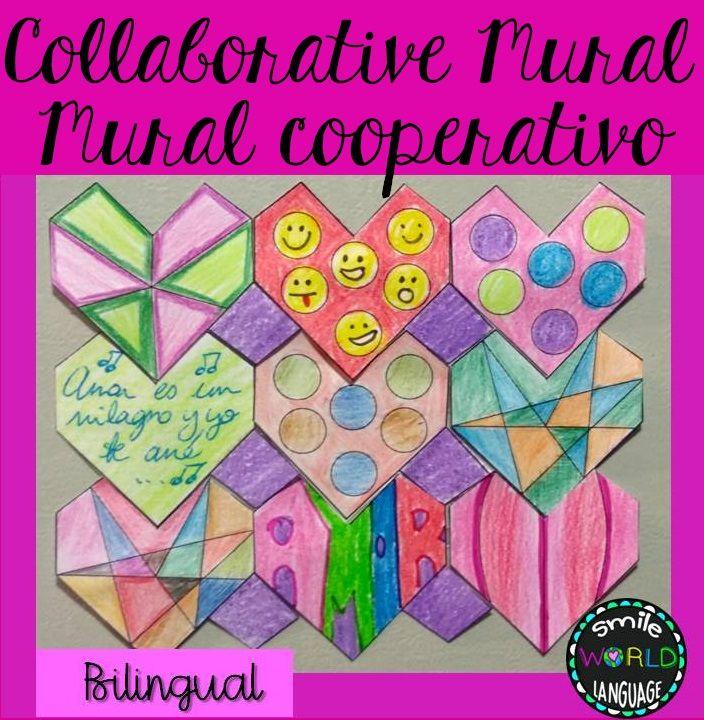 Collaborative tessellation st valentine's day