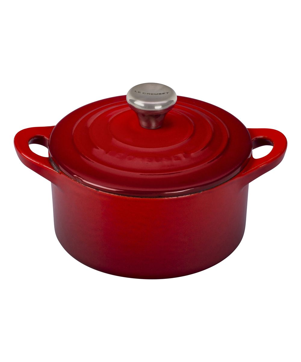 Cerise 0.33-Qt. Cast Iron & Stainless Steel Mini Cocotte