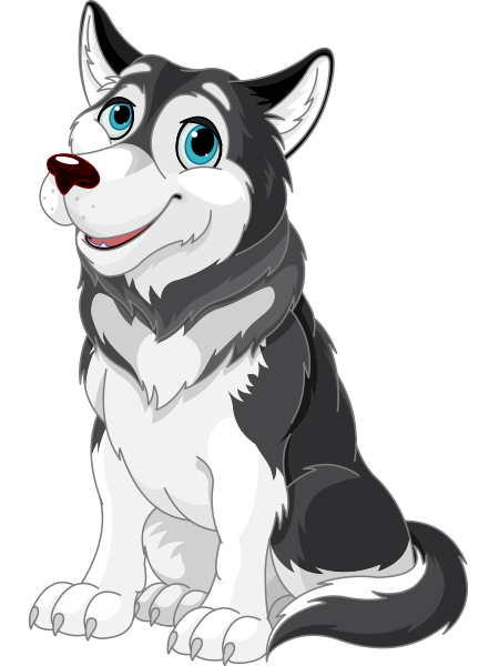 Husky in 2018 | Animal Icons | Pinterest | Facebook, Dog and Cartoon
